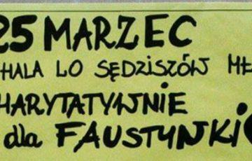 Charytatywnie dla Faustynki