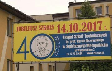 40 lat sędziszowskiego Zespołu Szkół Technicznych