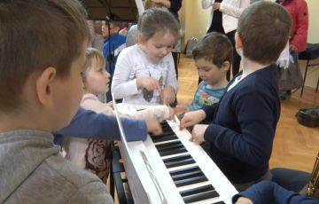 Lejdis Quartet prowadził warsztaty dla dzieci