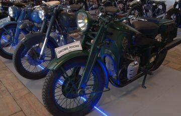 Wystawa starych motocykli otwarta