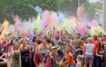 Festiwal kolorów w Sędziszowie Młp