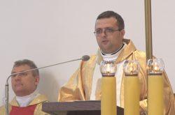 Pierwszy ksiądz z nowej parafii