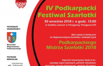 IV PODKARPACKI FESTIWAL SZARLOTKI