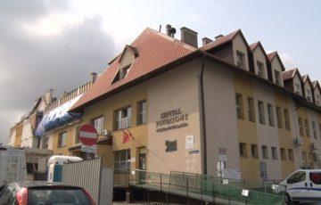 Przebudowa szpitala na półmetku