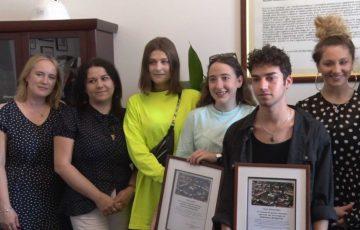 Uczniowie z Włoch pożegnali się z Sędziszowem Małopolskim