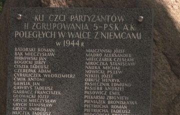 """75. rocznica akcji """"Burza"""" i bitwy na Kałużówce"""