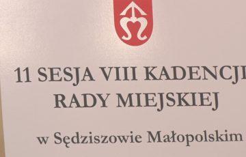 XI Sesja RM w Sędziszowie Młp.