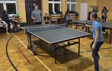 Integracja przy tenisie stołowym