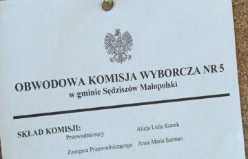 Jak w wyborach prezydenckich głosowali mieszkańcy Sędziszowa Małopolskiego?