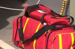 KRUS przekazał ochotnikom z Będziemyśla torbę medyczną