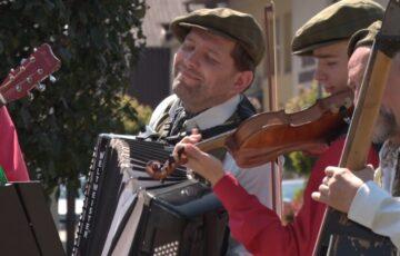 Letnie muzykowanie na sędziszowskim rynku