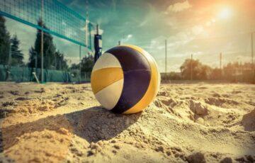 Pierwszy turniej piłki plażowej w Sędziszowie Młp.