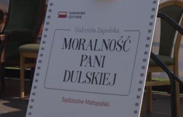 """Sędziszów Małopolski włączył się w akcję """"Narodowego Czytania"""""""
